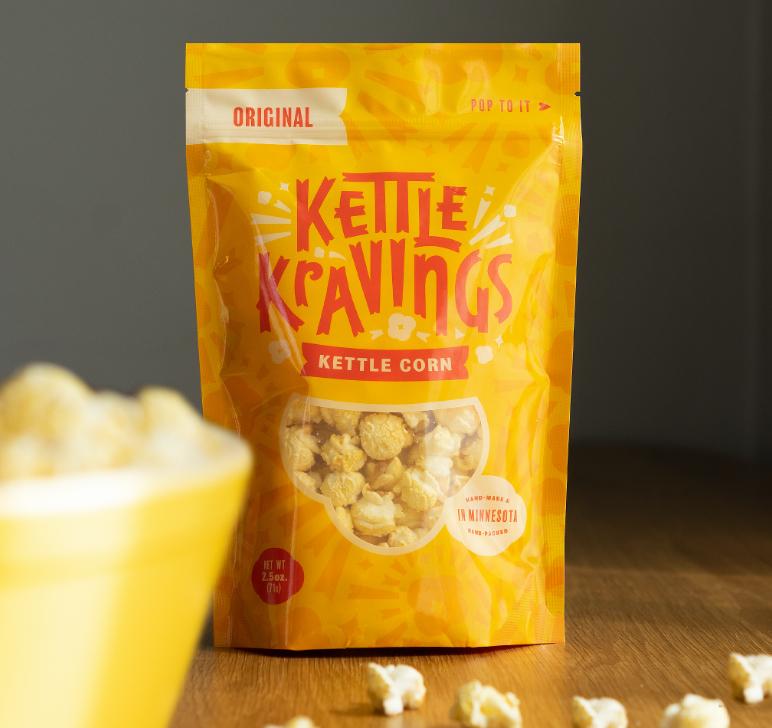 Bag of original flavor Kettle Kravings